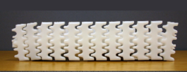 цепи из белого ацетала